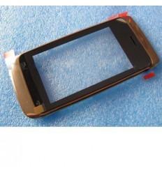 Nokia Asha 308 309 310 Pantalla táctil + marco dorado origin