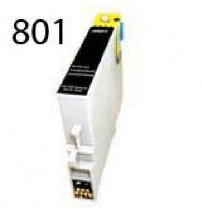 Recicled cartridge Epson T0801 Black