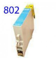 Recicled cartridge Epson T0802 Cyan