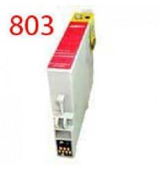 Cartucho reciclado Epson T0803 Magenta