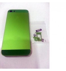 iPhone 5S Carcasa central + Tapa batería verde