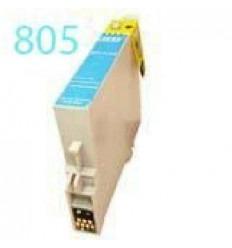 Cartucho reciclado Epson T0805 Cyan claro