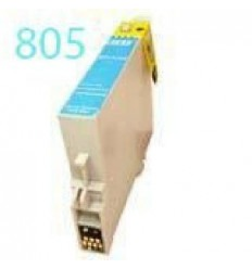 Recicled cartridge Epson T0805 Cyan light