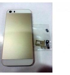 iPhone 5S Carcasa central + Tapa batería dorado