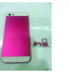 iPhone 5S Carcasa central + Tapa batería Lila - blanco