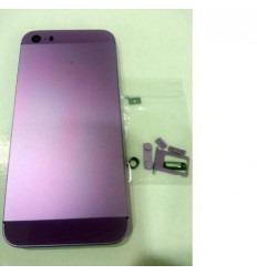 iPhone 5S Carcasa central + Tapa batería lila