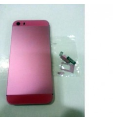 iPhone 5S Carcasa central + Tapa batería rosa