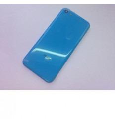 iPhone 5C Carcasa central + Tapa batería azul original