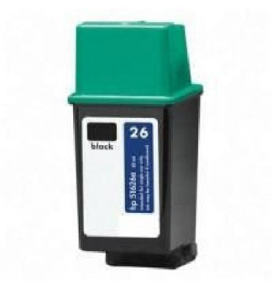 Recicled cartridge HP Nr26 (51626AC) Black