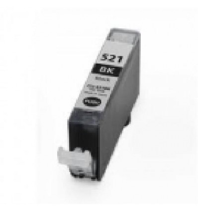 Recicled cartridge Canon CLI521BKC Black