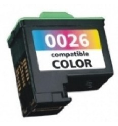 Recicled cartridge Lexmark Nr26 (10N0026C) Colour