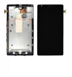 Nokia Lumia 1520 pantalla lcd + táctil negro + marco origina