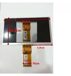 """Pantalla Lcd Repuesto Tablet China 7"""" Modelo 6"""