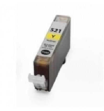 Recicled cartridge Canon CLI521YC Yellow