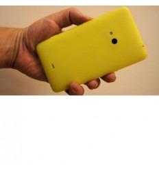 Nokia Lumia 625 tapa batería amarillo