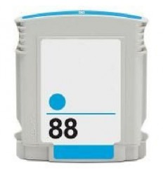Recicled cartridge HP Nr88 CYAN (C9391AC)