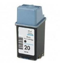 Recicled cartridge HP Nr20 (C6614DC) Black