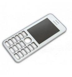 Nokia Asha 206 carcasa frontal blanco