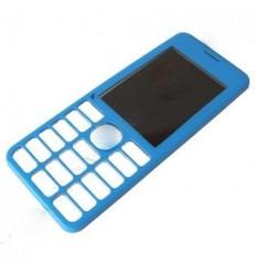 Nokia Asha 206 carcasa frontal azul