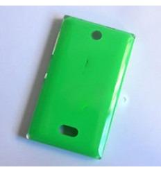 Nokia Asha 500 tapa batería verde