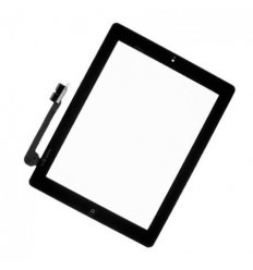 iPad 4 black touch screen with complete home button with adh