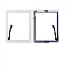 iPad 4 pantalla tactil blanco +home completo + adhesivos