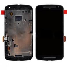 Motorola Moto G2 XT1063 XT1068 pantalla lcd + táctil negro +