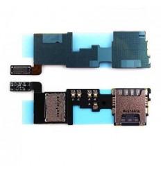 Samsung Galaxy Note 4 SM-N910F original sim card reader flex