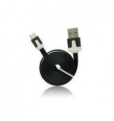 USB Flat Cable - micro USB black