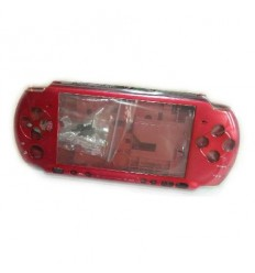 Psp 3000 shell Red