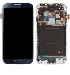 Samsung Galaxy S4 I545 LCD + Táctil azul oscuro + marco orig
