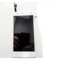 Bq Aquaris 5.7 original display lcd with white touch screen