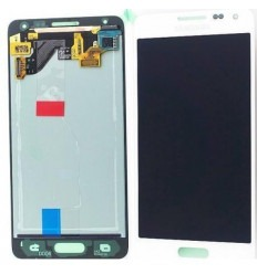 Samsung Galaxy Alpha SM-G850F original white display lcd wit