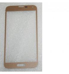 Samsung Galaxy S5 I9600 SM-G900M SM-G900F cristal dorado
