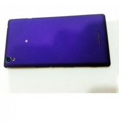 Sony Xperia T3 D5102 D5103 D5106 M50W tapa batería lila con