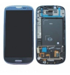 Samsung Galaxy s3 i9300 táctil+lcd+marco azul original