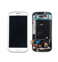 Samsung Galaxy s3 i9300 táctil+lcd+marco blanco original