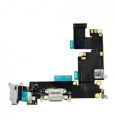 iPhone 6 plus Flex Conector de carga Jack audio blanco origi