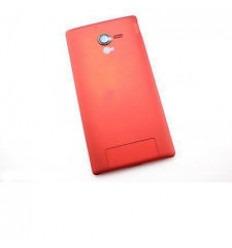 Sony Xperia ZL L35H C6502 C6503 C6506 tapa batería rojo