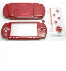 Carcasa completa PSP 1000 Roja