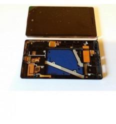 Nokia Lumia 930 Pantalla LCD + Táctil negro original + marco