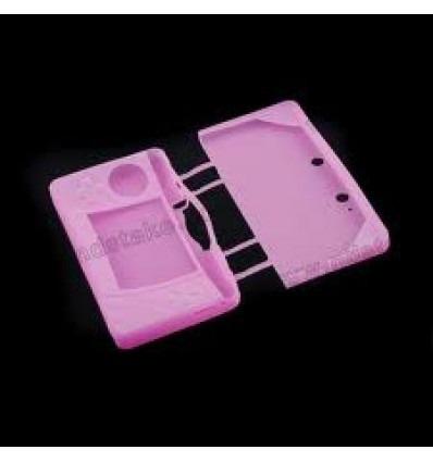 Protector silicona rosa Nintendo 3DS