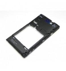 Sony C1505 C1605 C1604 Xperia E carcasa trasera negro