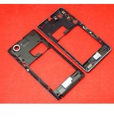 Sony Xperia L C2105 C2104 S36H carcasa trasera negro origina