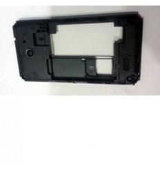 Sony Xperia E1 Dual D2004 carcasa trasera negro original