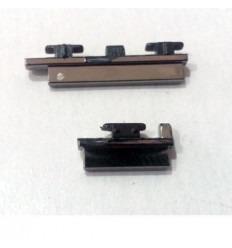 Motorola Moto G XT1032 XT1033 set 2 piezas botones negro ori