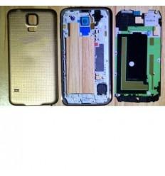 Samsung Galaxy S5 I9600 SM-G900 SM-G900F gold full housing