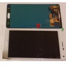 Samsung Galaxy Note 4 SM-N910F original display lcd with whi