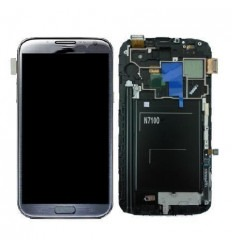 Samsung Galaxy Note 2 N7100 original display lcd with white