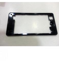 Sony Xperia Z1 Mini D5503 Z1C M51W carcasa trasera negro ori